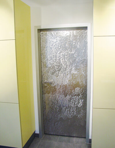 Stainless steel design doors from Ehrenfels Isoliertüren, chiller room doors, freezer room doors, deep-freeze room doors, service room doors, swing doors