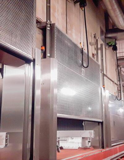 Lift doors ETH 150 from Ehrenfels Isoliertüren, chiller room doors, freezer room doors, operating room doors, swing doors