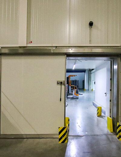 Ehrenfels Isoliertüren EKS 100 chiller room doors, chiller room doors, freezer room doors, freezer room doors, service room doors, swing doors