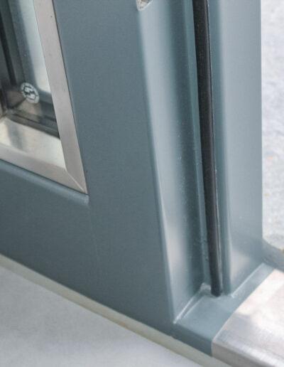 Highly insulating entrance doors from Ehrenfels Isoliertüren, chiller room doors, freezer room doors, deep-freeze room doors, plant room doors, swing doors
