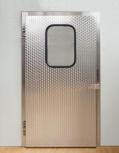 Chiller room hinged door type KE 15.070 and KE 15-Gastro2: Ehrenfels Isoliertüren, chiller room doors, freezer room doors, service room doors, swing doors
