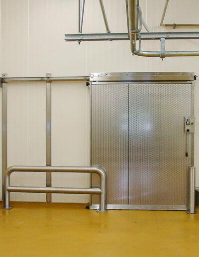 Gefrierraum Schiebetür ETS 150 von Ehrenfels Isoliertüren, Kühlraumtüren, Gefrierraumtüren, Tiefkühlraumtüren, Betriebsraumtüren, Pendeltüren