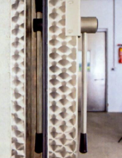 Kühlraum-Schiebetuer EKS 100 von Ehrenfels Isoliertüren, Kühlraumtüren, Gefrierraumtüren, Tiefkühlraumtüren, Betriebsraumtüren, Pendeltüren