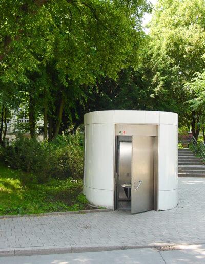 WC-Türen aus Edelstahl von Ehrenfels Isoliertüren, Kühlraumtüren, Gefrierraumtüren, Tiefkühlraumtüren, Betriebsraumtüren, Pendeltüren