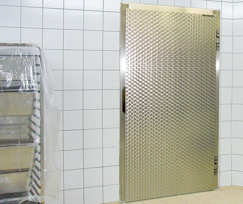 Kuehlraum-Drehtuer KE 15-Gastro2 von Ehrenfels Isoliertueren, Kühlraumtüren, Gefrierraumtüren, Tiefkühlraumtüren, Betriebsraumtüren, Pendeltüren